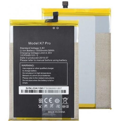 remplacer Batterie Oukitel K7 Pro