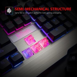 clavier de jeu gaming lumineux k900 Éclairage