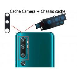 verre Caméra arrière Xiaomi Mi NOTE10 original + Frame chassis