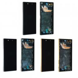 Ecran Sony Xperia Z5 Premium E6853 - LCD + Vitre tactile assemblé sur châssis