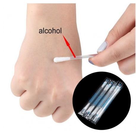 Tampons Imprégnés d'Alcool 70%, lingette de désinfection