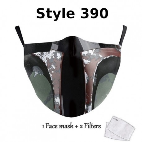 Masque lavable Star War Cosplay