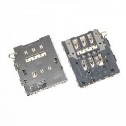 Lecteur Sim Samsung S6 G920F & S6 Edge G925F Galaxy - Connecteur sim de remplacement