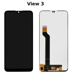 écran Wiko View 3, View 3 Pro, View 3 Lite - Dalle IPS + Vitre tactile assemblée