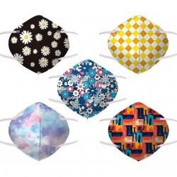 Lot de 50 masques KN95 FFP2 4 couches à motifs imprimés en promotion