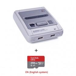 Console de jeu vidéo de loisirs en famille Gameplayer portable pour SNES/MEGA Case pré-installer Recalbox construit en 15000 + j