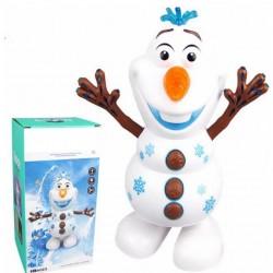 Olaf bonhomme de neige figurine jouets électronique intelligent Robot de danse enfants jouets cadeaux bonhomme de neige Robot av