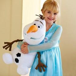 Peluche Olaf des neiges , 30cm/45cm, frozen animaux de dessins animés