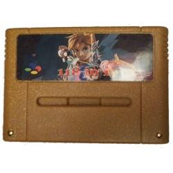 cartouche de jeux 118 en 1 pour SNES 16-Bit PAL