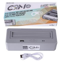 Adaptateur multi cartouche et rom Original Super NES avec lecteur clef usb pour rom