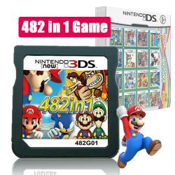 cartouche de jeux 482 en  1 pour  Console  NDS NDSL 2DS 3DS 3DSLL NDSI