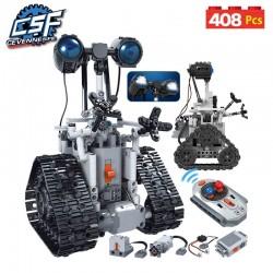Robot électronique avec 408 pièces, blocs de construction technique télécommande intelligente
