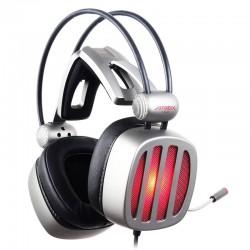 casque XIBERIA S21 casque de jeu avec Microphone 7.1 son Surround stéréo lumière LED