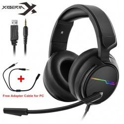Casque Xiberia V20 casque de jeu pour PS5  nouvelle xbox X  avec micro Led