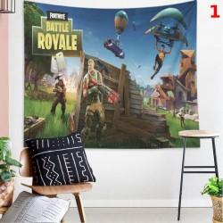 Tapisserie murale Fortnite Royale Battle, Tissu suspendu de décoration pour la maison