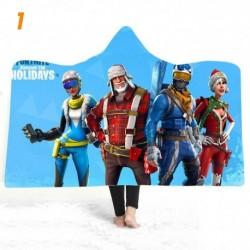 couverture polaire fortnite en peluche imprimée 3D pour enfants