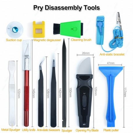 Valise outils professionnels reparation smartphone 48 en 1