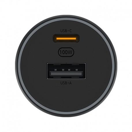chargeur de voiture Xiomi Original, Charge rapide, 100W Max 18W Xiaomi CC07ZM