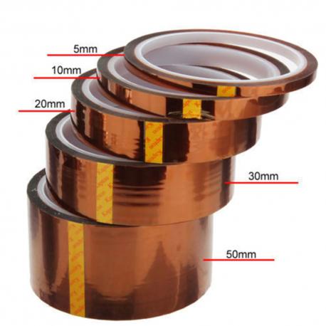 Ruban Kapton adhésif thermo-résistant hautes températures