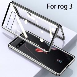 Coque 360 integrale métallique pour téléphone ASUS ROG 3, ZS661KS