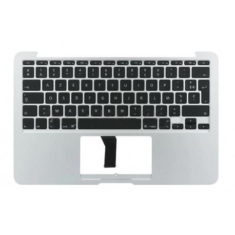 Clavier top case Macbook Air A1465 d'origine, clavier français rétro-éclairé