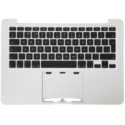 Laoptop – coque supérieure pour Macbook Pro A1502, 2015 d'origine, avec clavier rétroéclairé, allemand, français, danois, espagn