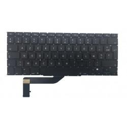 Clavier Macbook Pro Retina A1398 remplacement du clavier disposition AZERTY