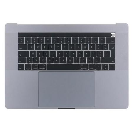 Clavier pour Macbook Pro A1707, français d'origine + pavé tactile +haut-parleur + Touch Bar