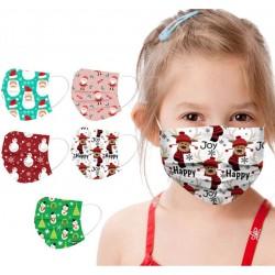 Masques jetables enfants Série Noel, Fêtes, nouvel an.... masques de protection en discount