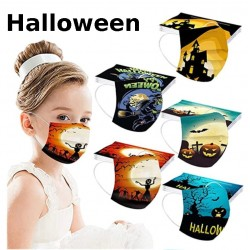 masques jetables Halloween pas cher