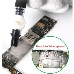 Détecteur de court-Circuit colophane pour carte mère, batterie intégrée