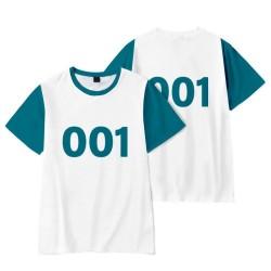 T-Shirt Squid Game pas cher