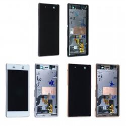 Ecran Sony Xperia M5 E5603 E5653 complet sur châssis - LCD + Vitre tactile assemblé