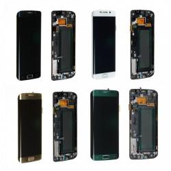 Ecran Samsung Galaxy S6 Edge G925F neuf - LCD + Vitre tactile assemblé + Adhésif 3m