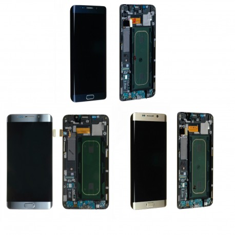 Ecran LCD Complet sur chassis pour Samsung Galaxy S6 Edge Plus G928F