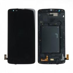 Ecran LG K8 K350N - LCD + Vitre assemblée sur châssis