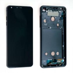 Ecran LG G6 H870 - LCD + Vitre assemblée sur châssis