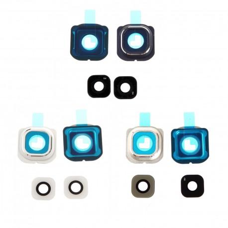 Cache Lentille Samsung Galaxy S6 Edge G925F - cache caméra lens
