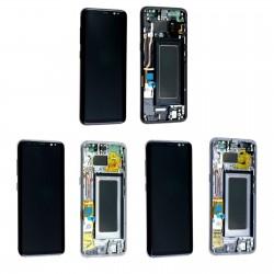 Ecran Samsung Galaxy S8 G950F Complet - LCD + Vitre tactile assemblé monté sur châssis