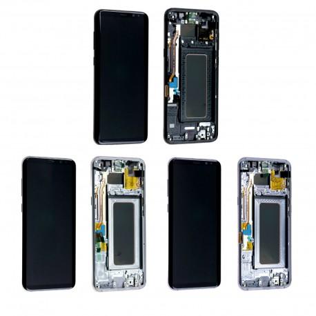 Ecran complet sur châssis Samsung Galaxy S8+ G955F