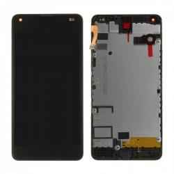 Ecran Microsoft Lumia 550 - LCD + Vitre tactile assemblée sur châssis