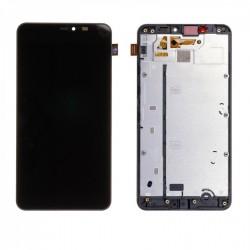 Ecran Microsoft Lumia 640 XL - LCD + Vitre assemblée sur châssis