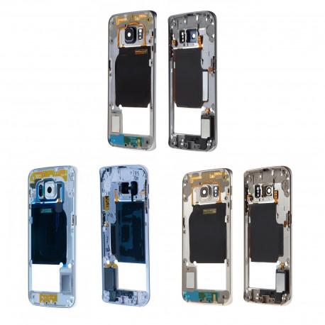 Châssis intermédiaire + Contour pour Samsung Galaxy S6 Edge G925F