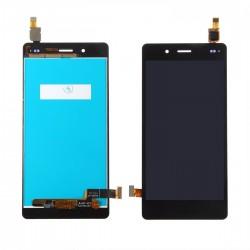 Ecran Huawei P8 Lite - Vitre tactile + LCD assemblé + Adhésif 3M
