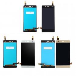 Ecran Huawei P8 Lite de remplacement + Adhésif 3M - Vitre tactile + LCD