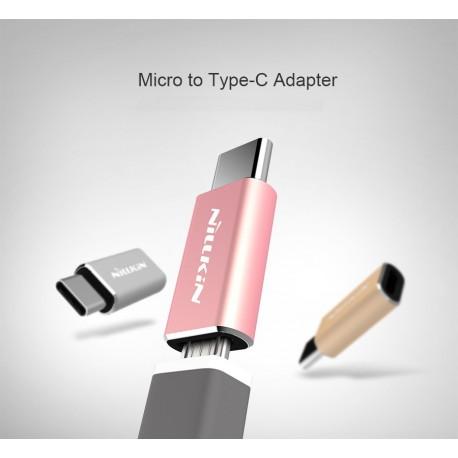 Adaptateur Micro USB vers USB 3.1 Type C - Qualité Fiable, livré en boite
