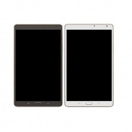 Ecran complet LCD + Vitre + Châssis Samsung Galaxy Tab S 8.4'' T700 T701 T705