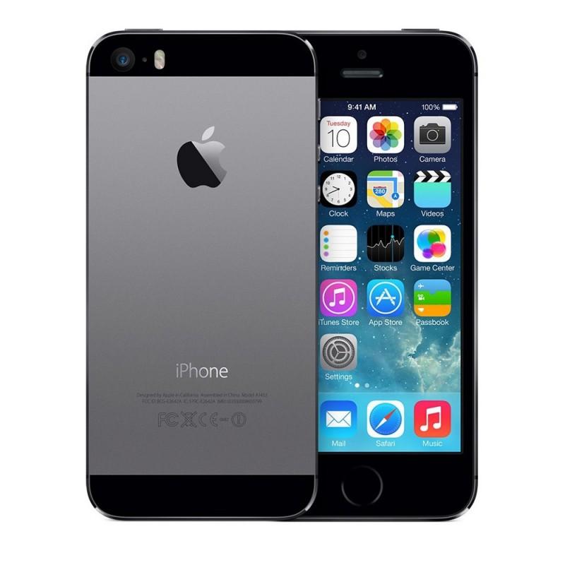 apple iphone 5s noir reconditionn grade a service. Black Bedroom Furniture Sets. Home Design Ideas