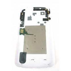 Vitre Coque Arrière LG E960 NEXUS 4 Blanc ( REV11 )