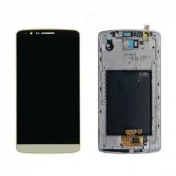 Ecran LG G3 Optimus D855 - LCD + Vitre assemblée sur châssis